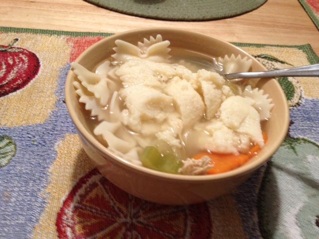 flu shot; boomer wellness; matzoh ball soup