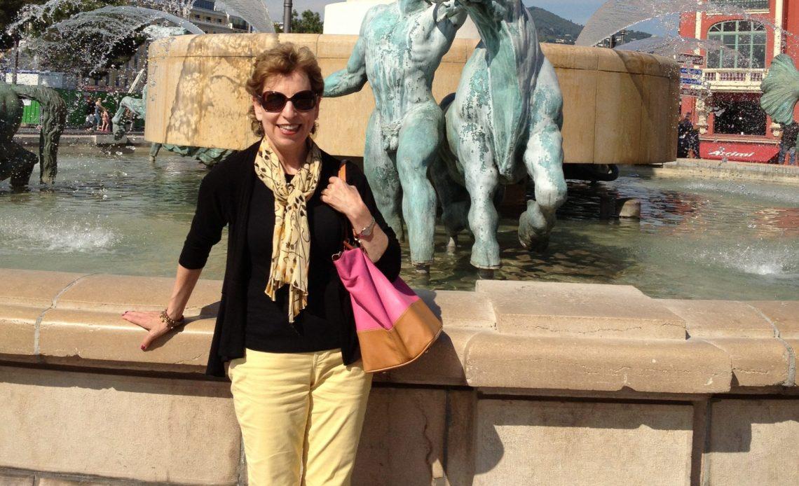 Judy in Nice