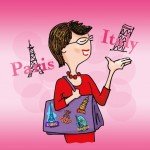JudiBoomergirl travel caricature