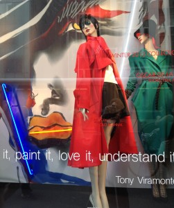 fashion, Bergdorf Goodman window displays, life after 50, boomer women, over 50