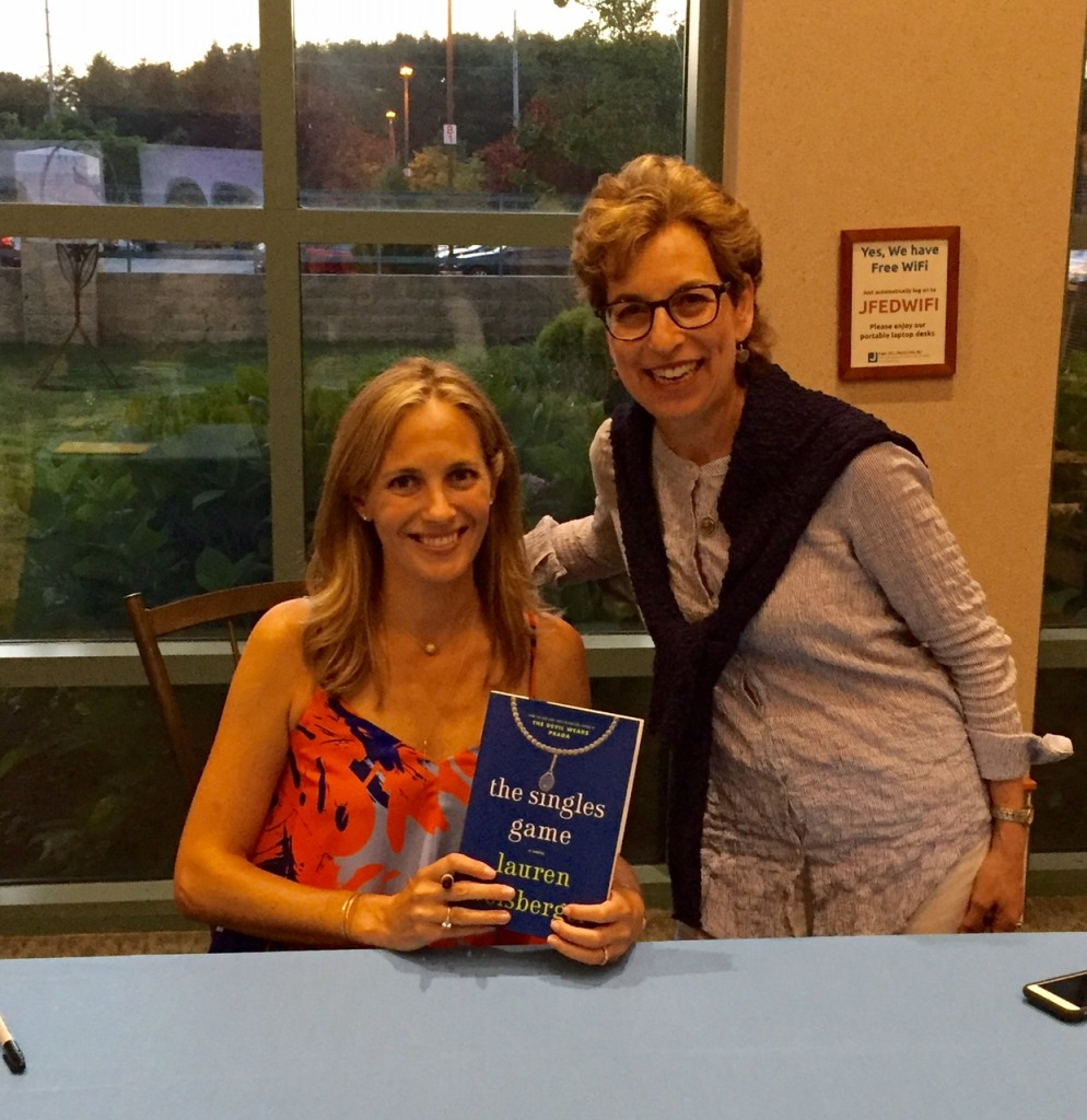 Lauren Weisberger; books for boomer women; chicklit