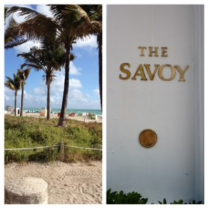 South Beach Miami, Savoy Hotel, life after 50, over 50, travel and leisure, boomer travel