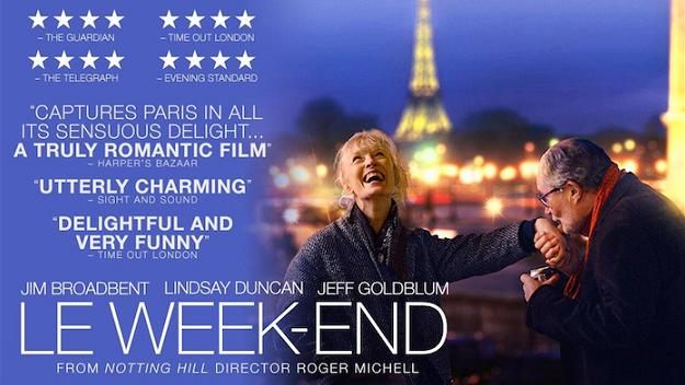 LE WEEK-END movie, life after 50, movies in Paris, boomer movies, over 50, boomer chick flicks