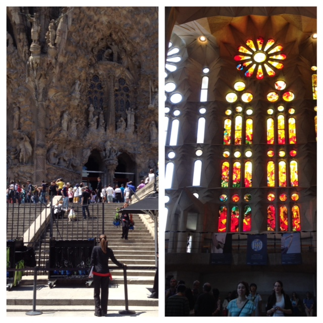 Basilica de la Sagrada Familia, Barcelona, life after 50, over 50, boomer travel