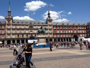 Madrid Plaza Mayor, life after 50, boomer travel, travel and leisure, retirement