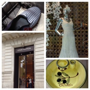 Barcelona shops, Zara Home, Louis Vuitton, Spanish pottery, life after 50, boomer travel