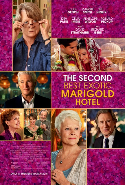 The Second Best Exotic Marigold Hotel, love blooms, life after 50, retirement, over 50, aging