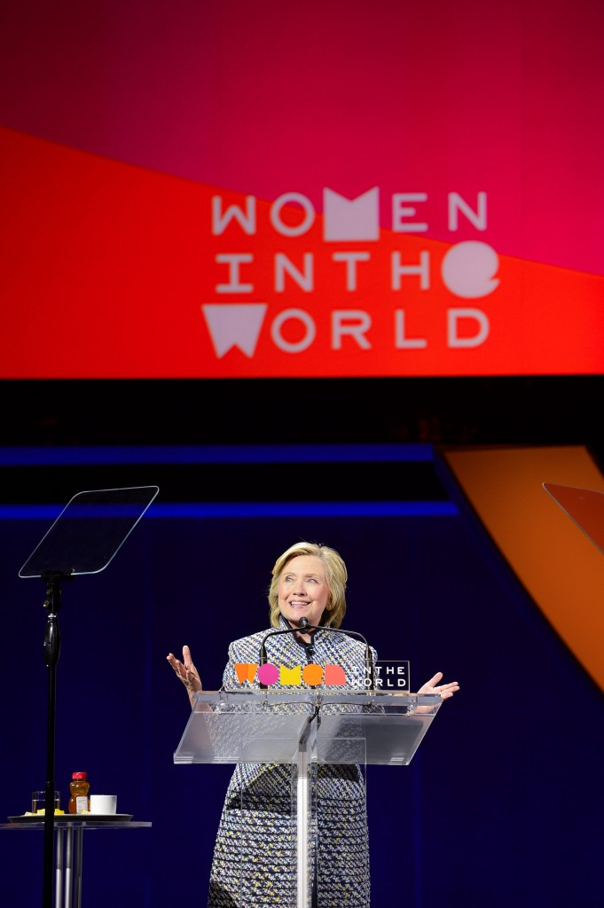 Hillary Clinton, #WITW, TIna Brown's Women in the World Summit