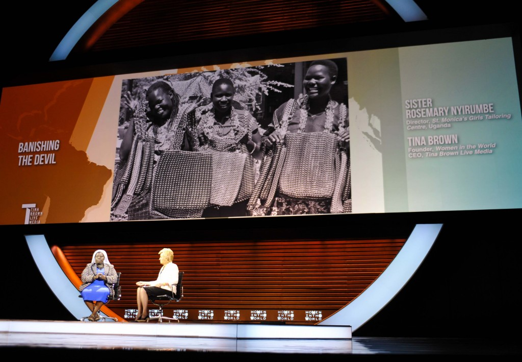 Sister Rosemary Nyirumbe, #WITW, Tina Brown's Women in the World Summit, life after 50