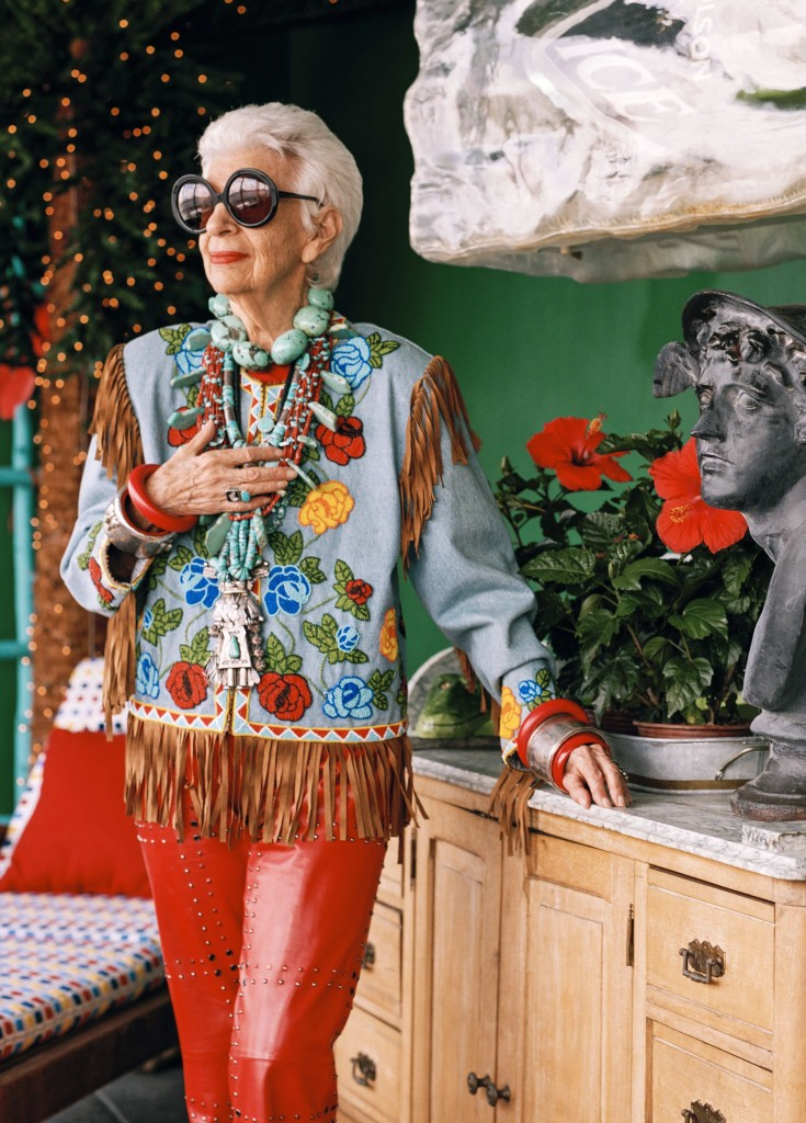 Iris Apfel, IRIS, aging, fashionista