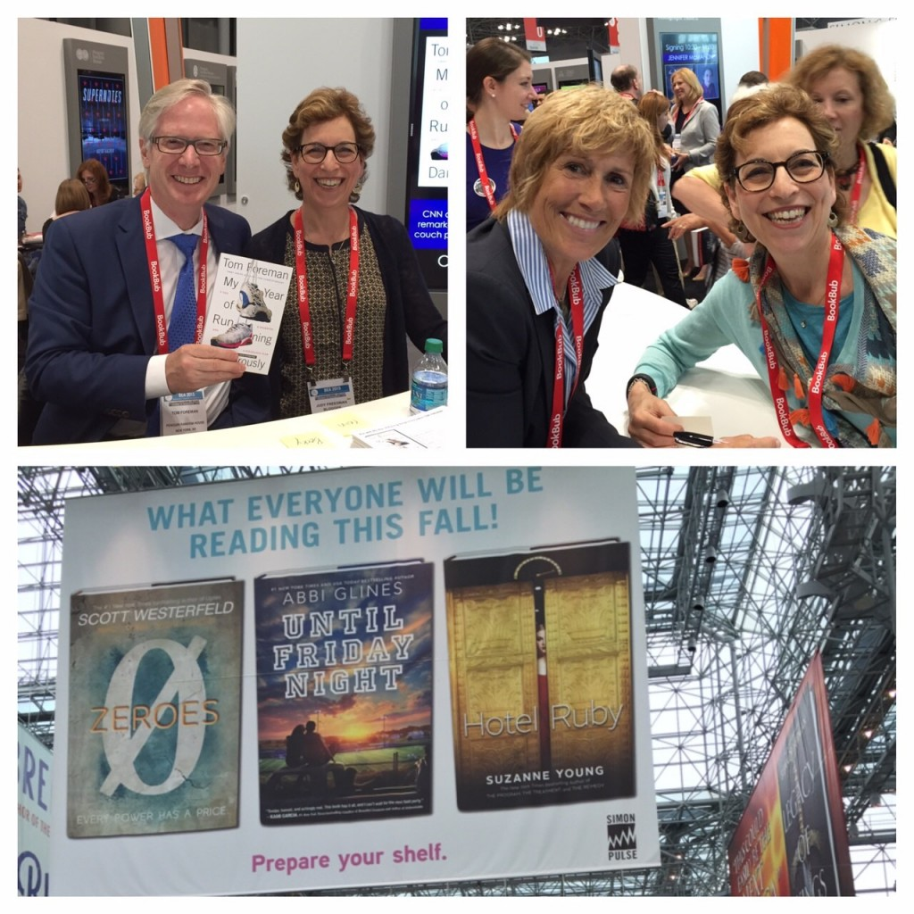 BEA 2015, Book Expo America, Dyan Nyad, Tom Foreman, books, life after 50