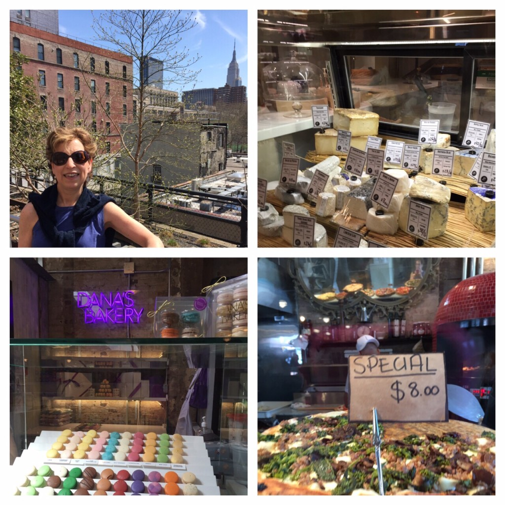 My Itchy Travel Feet, NYC food halls, High Line,  Le District, Gansevoort Market, Chelsea Market