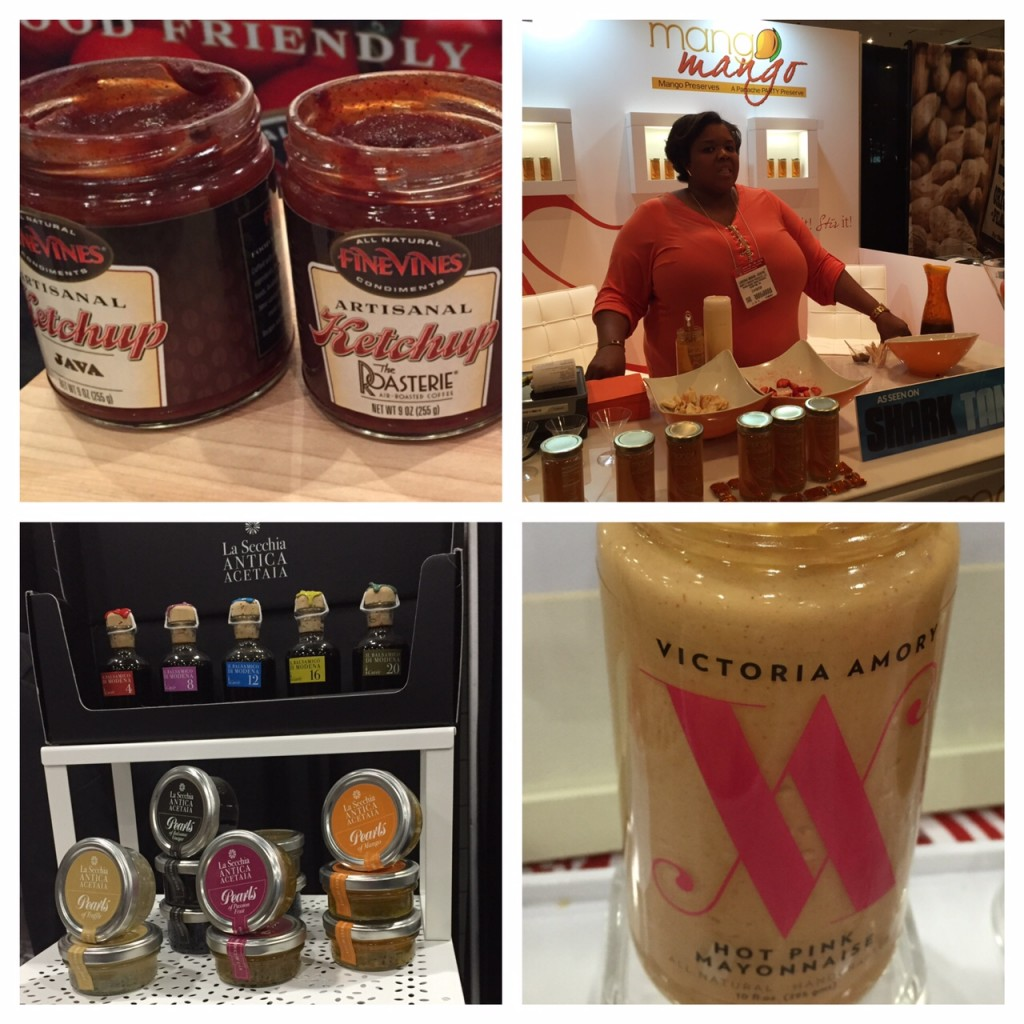 condiments at the Summer Fancy Food Show