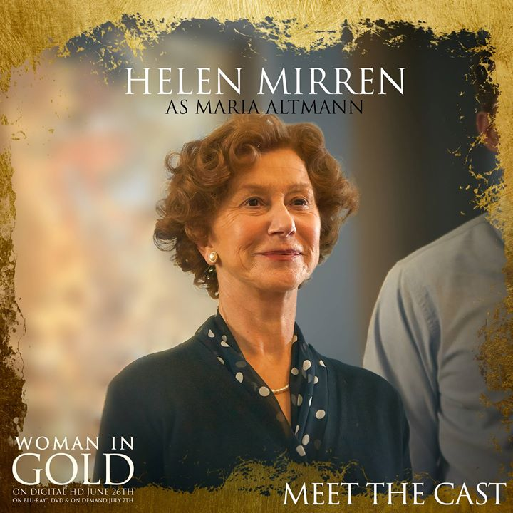 Helen Mirren, Maria Altmann, Woman in Gold, life after 50, midlife women, boomer women