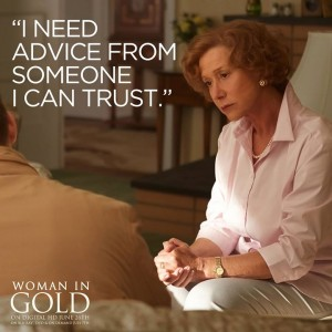 Helen Mirren, Woman in Gold