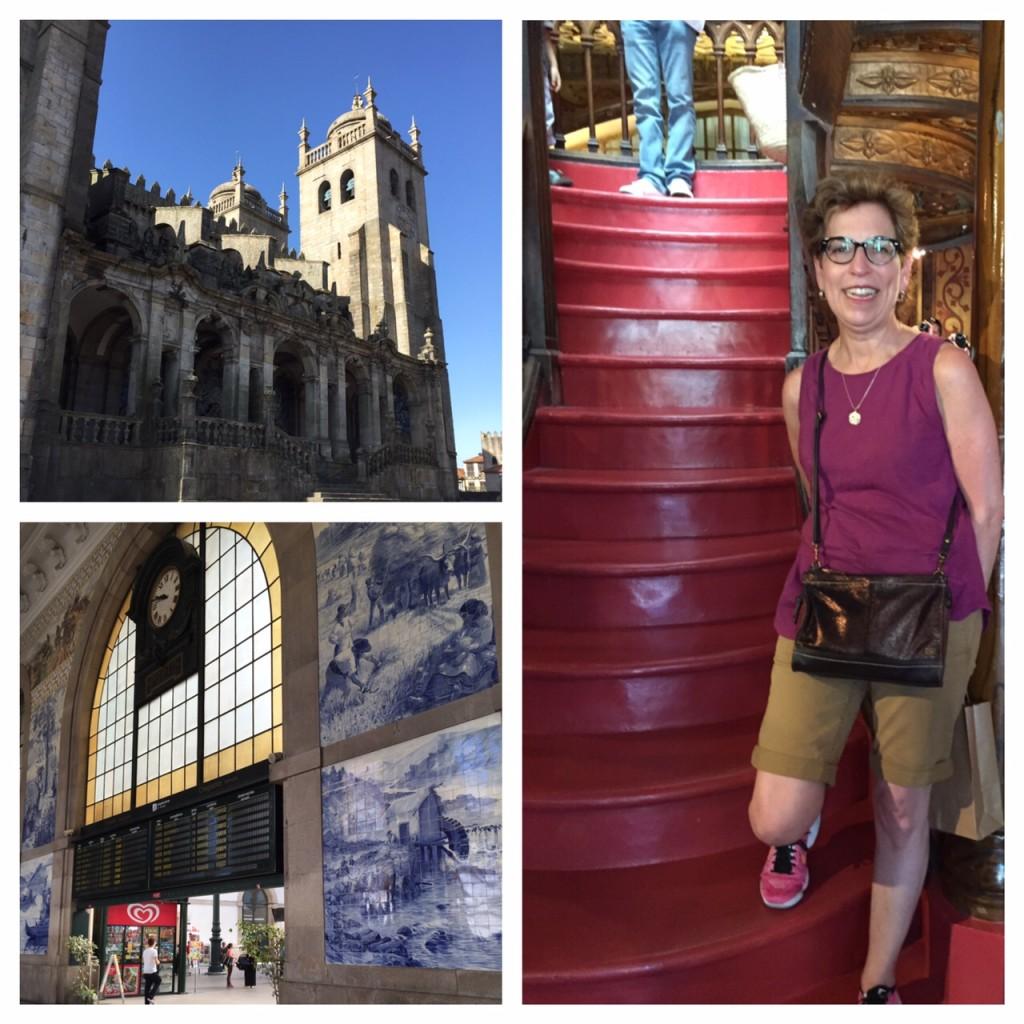Porto, Lello bookstore, Portugal, Viking River Cruise