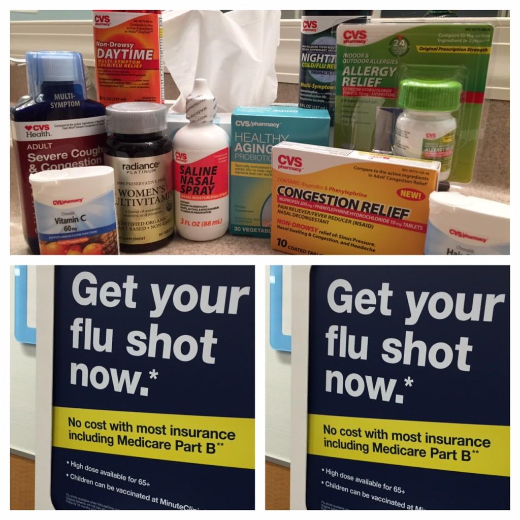 flu shot; CVS MinuteClinic; boomer wellness