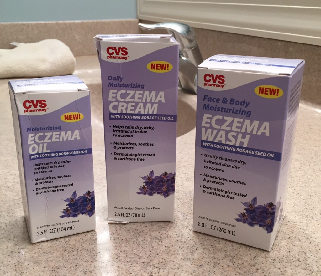 CVS Moisturizing Eczema Cream with Borage Seed Oil