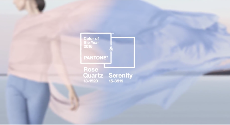 Pantone Color of the Year 2016, Rose Quartz, Serenity