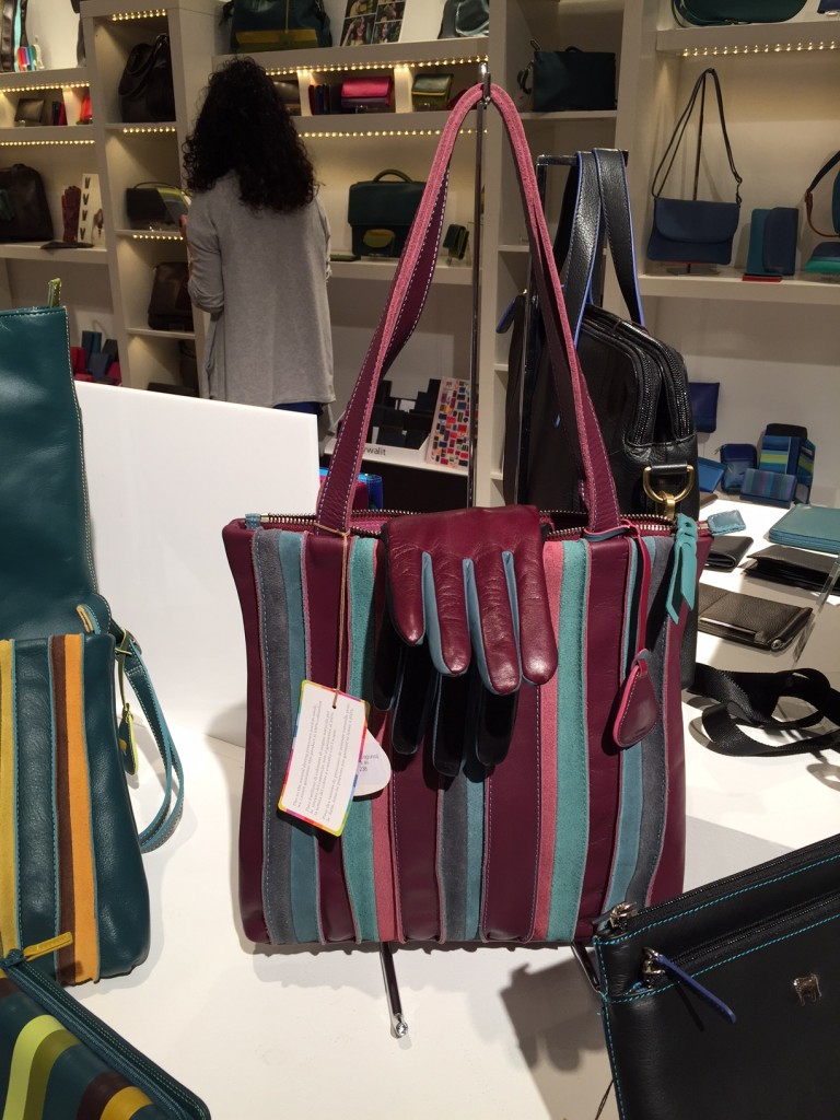 My Walit makes a variety of colorful leather handbags and accessories.