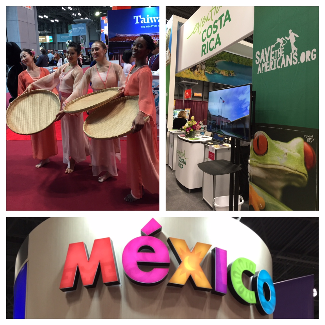 #nyttravelshow, New York Times 2016 Travel Show, boomer travel, Mexico, Costa Rico, Taiwan