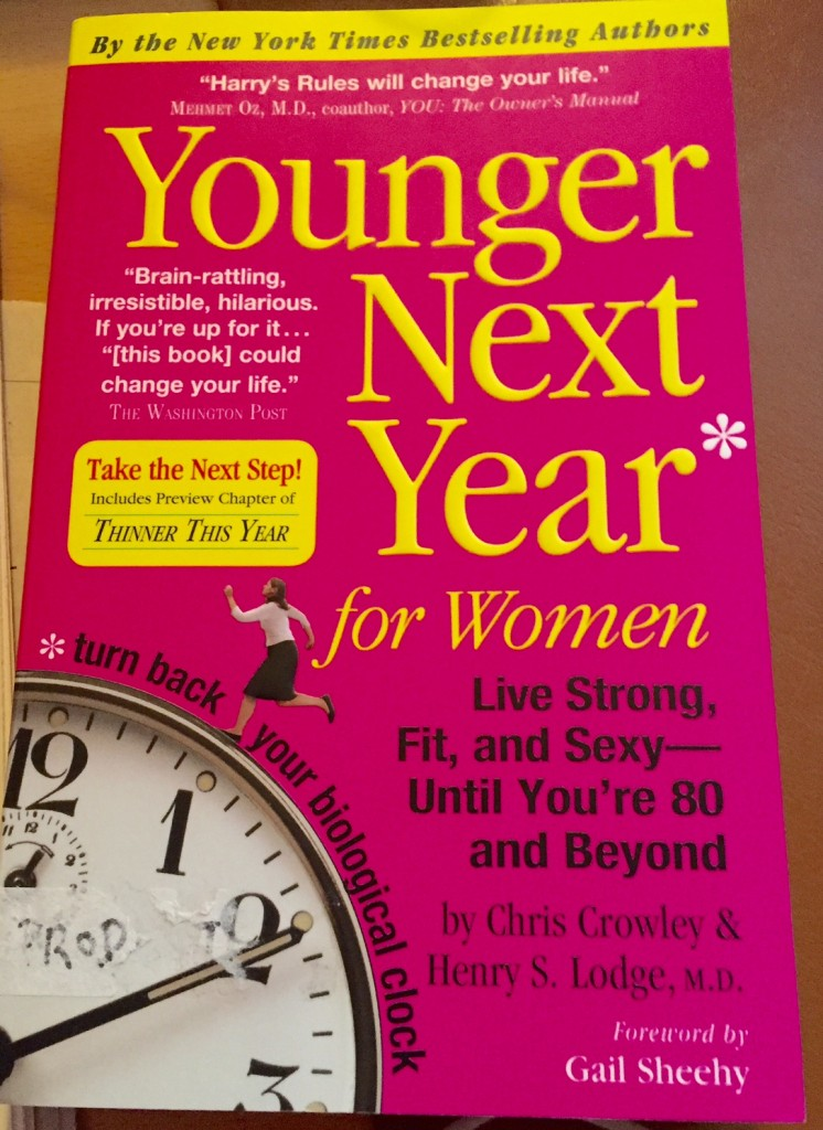 Younger Next Year for Women, exercise, boomer women, boomer wellness
