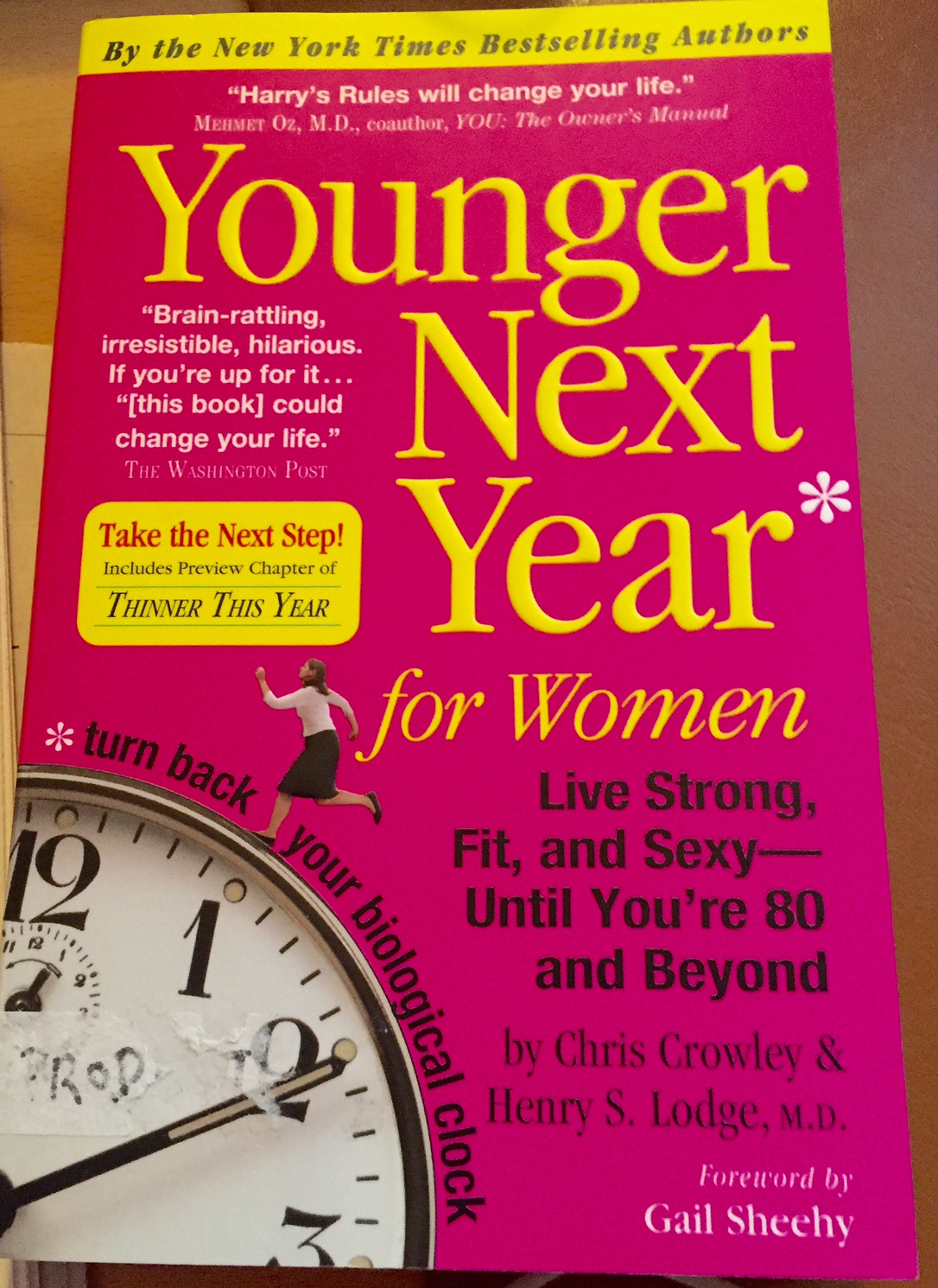 Younger Next Year for Women, exercise, boomer women, boomer wellness
