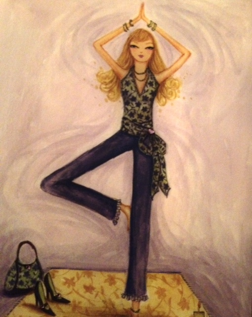 yoga, tree pose, balance, prevent a fall, life after 50