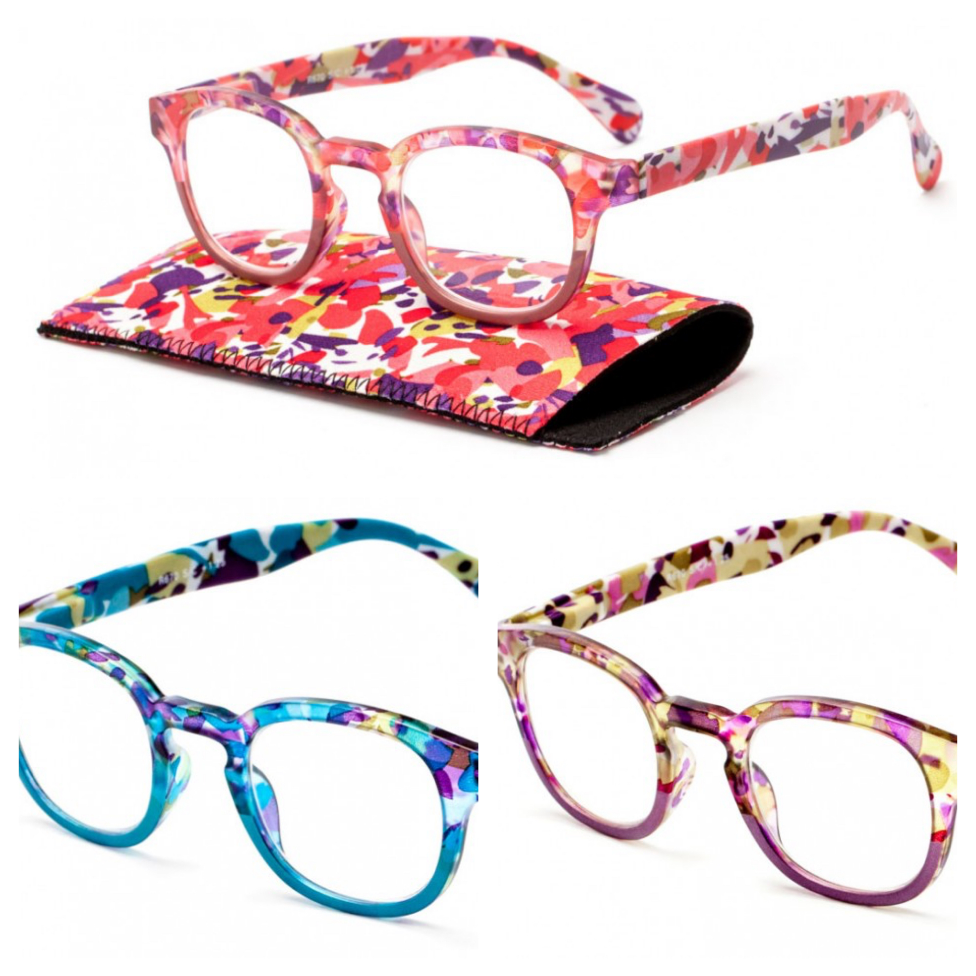 Bouquet readers; reading glasses; midlife eyes; far-sighted eyes