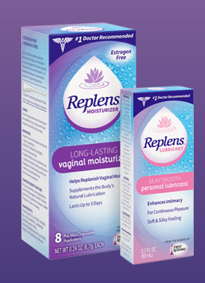 Replens; vaginal dryness; baby boomer women; post 50