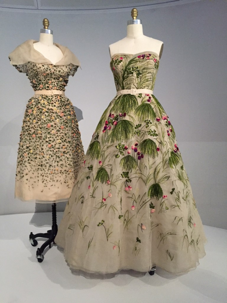 Dior Embroidery Dresses; MET Costume Institute; manusxmachina; #manusxmachina; fashion