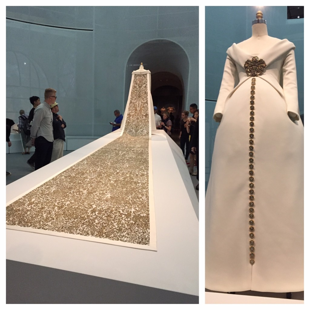 The MET Costume Institute; #ManusxMachina; fashion; Chanel Wedding Ensemble