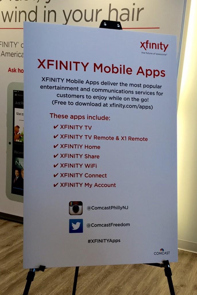 #XfinityMoms; #XfinityApp