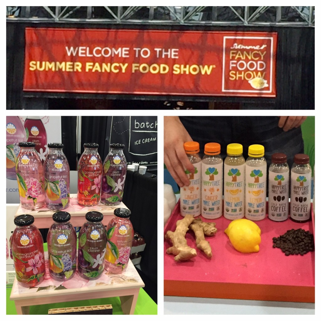Blossom Water; Happy Tree Maple Water; boomer wellness, boomer food trends;  2016 Summer Fancy Food Show