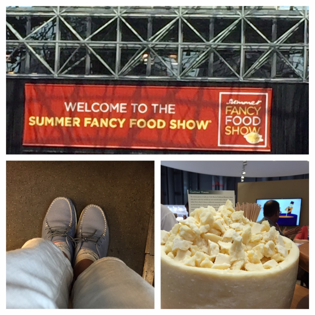 2016 Summer Fancy Food Show; SAS Shoemakers; boomer food trends