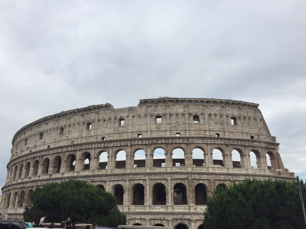 Colosseum; Rome; Italy; travel