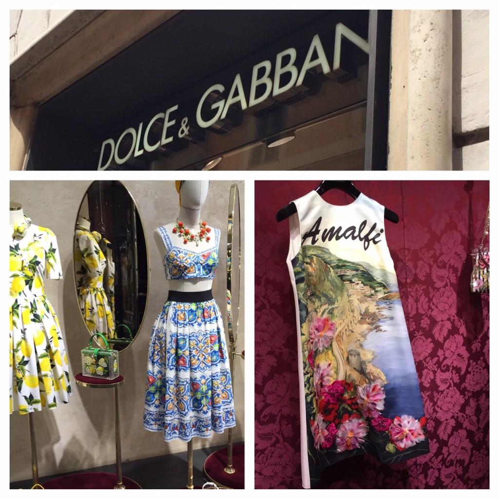 Italy; Rome; Dolce & Gabbana