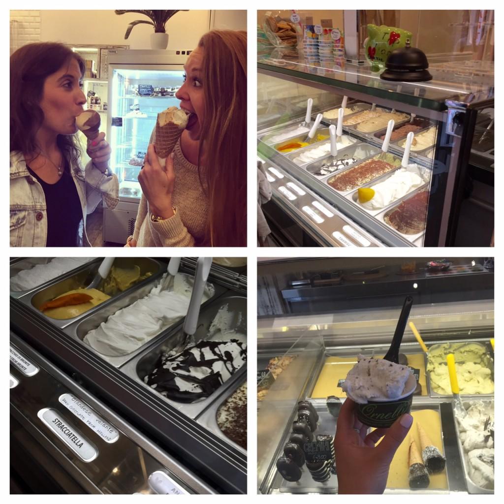 gelato; Rome; Italy; travel