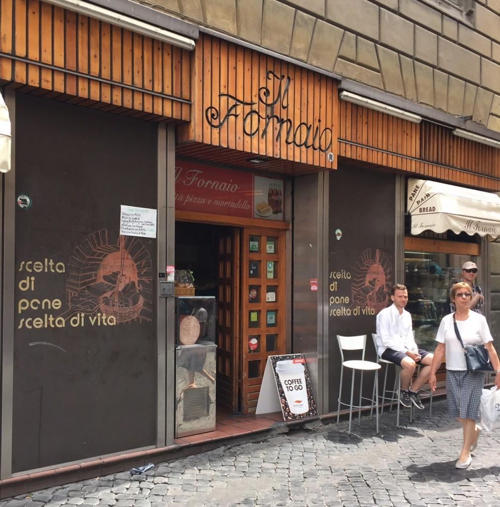 Il Fornaio; Rome; Italy; Travel