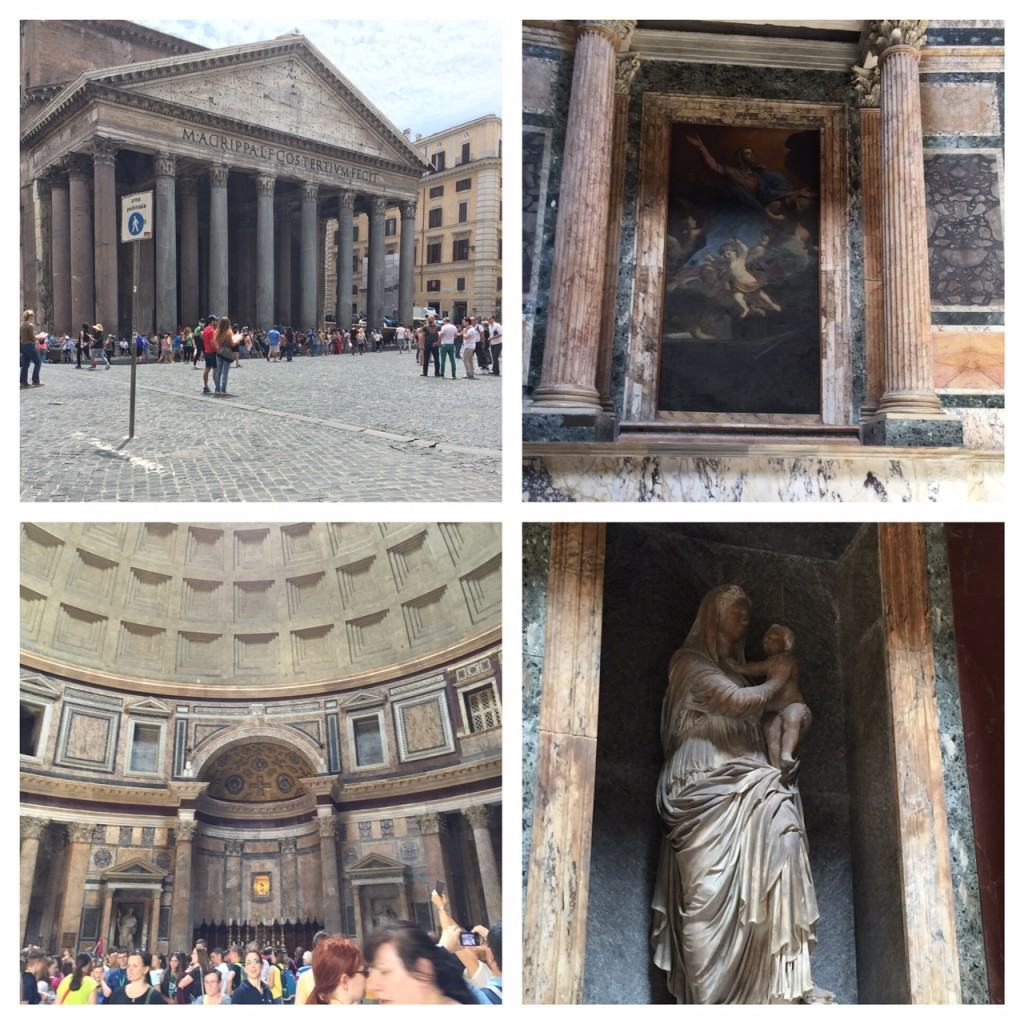 Italy; Rome; boomer travel; Pantheon