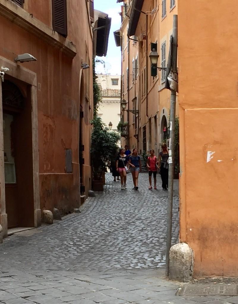 Trastevere; Rome; Italy; travel