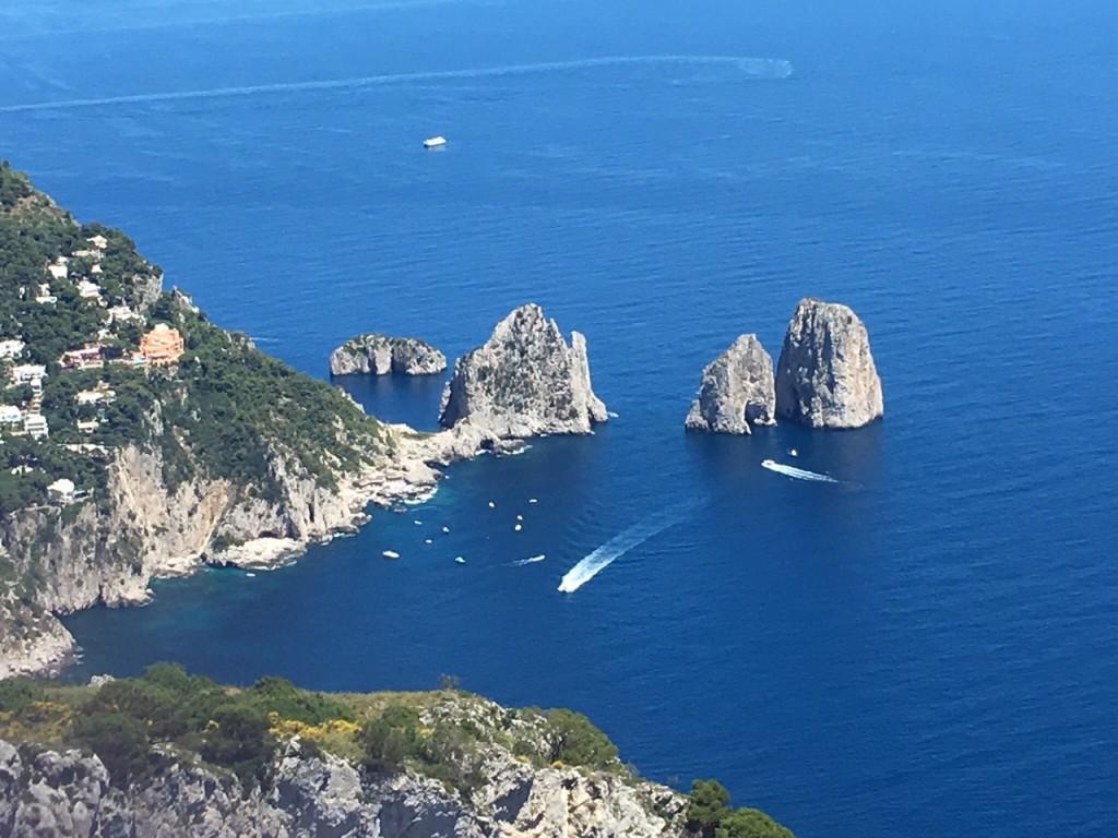 Capri; Mount Salaro; Isle of Capri; Italy; Amalfi Coast