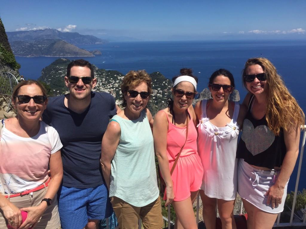 Capri; Isle of Capri; Mount Salaro; Italy; Amalfi Coast