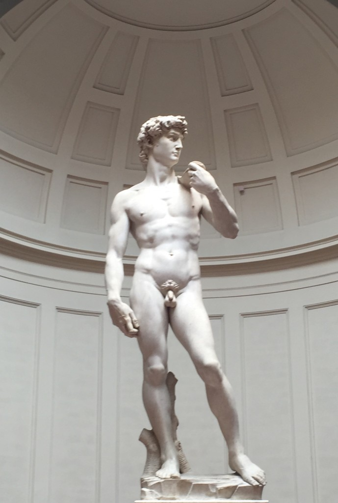Michaelangelo; The David; Florence; Italy; boomer travel
