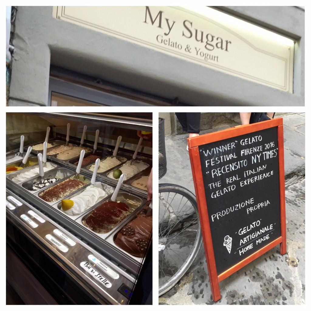 gelato; My Sugar gelato; My Sugar; Florence; Italy; best gelato in Florence; boomer travel