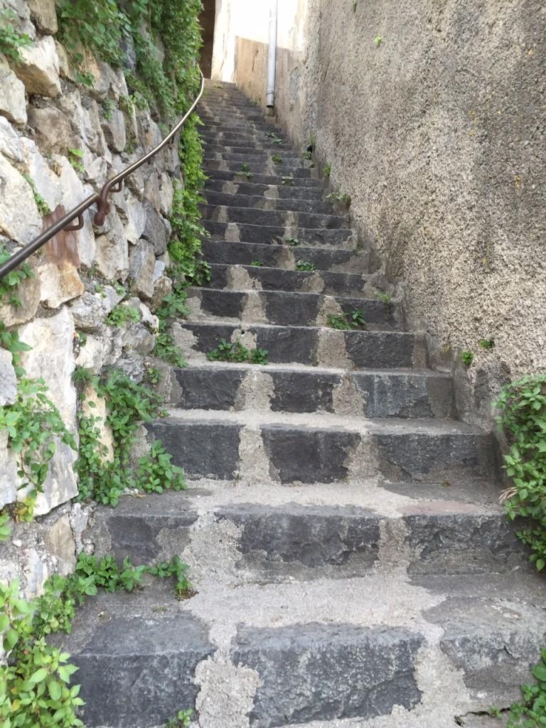 Positano; Italy; Amalfi Coast; boomer travel; Positano steps