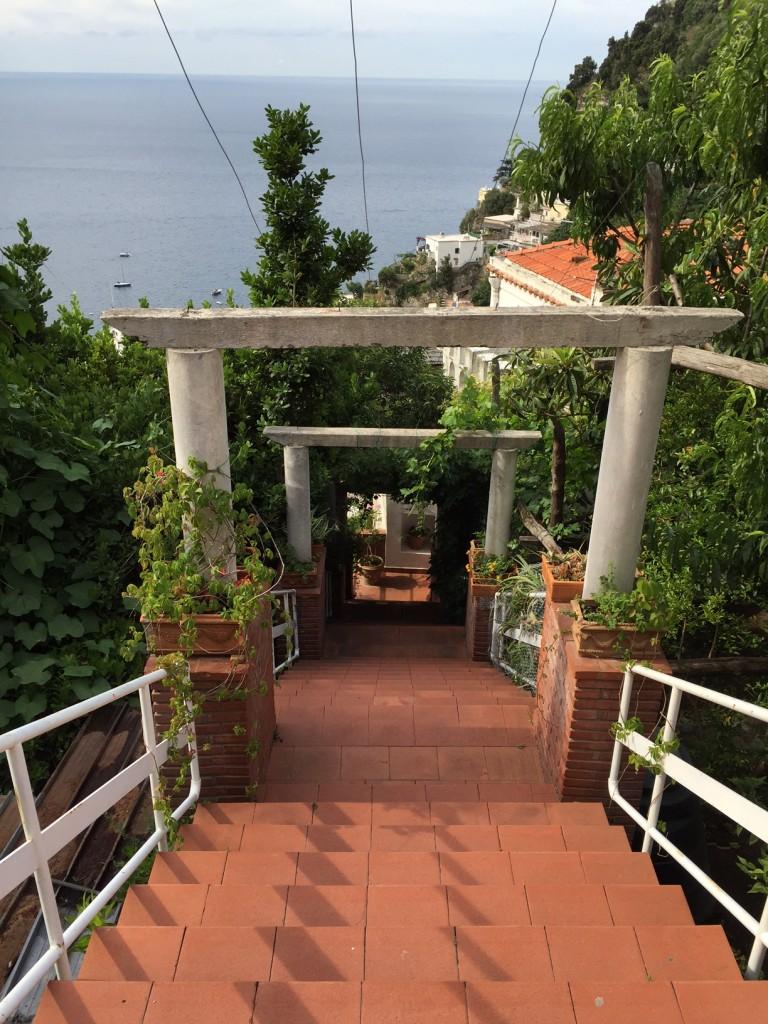 Positano; Italy; Amalfi Coast; Casa Orizzonte; boomer travel