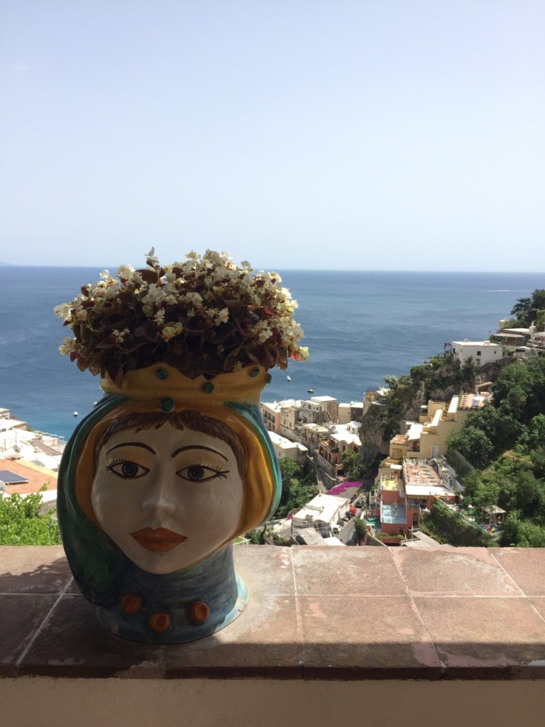 Positano; Italy; Amalfi Coast; Casa Orizzonte