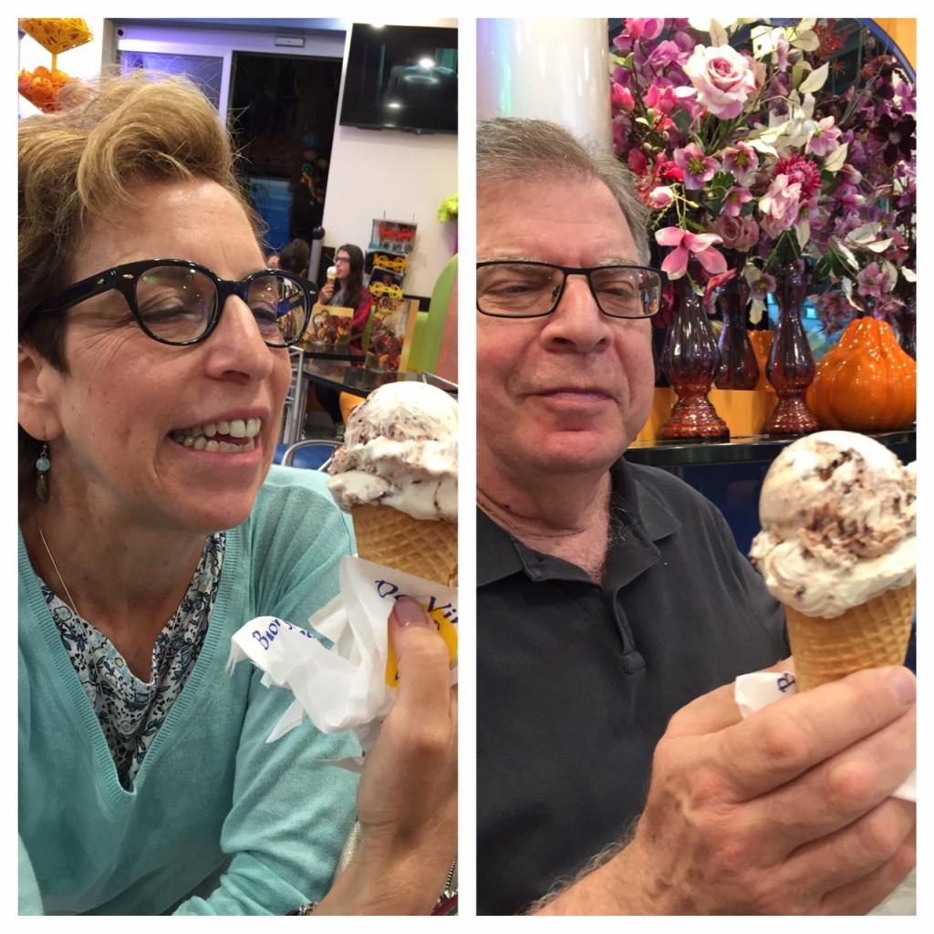 Bruges; gelateria; gelato