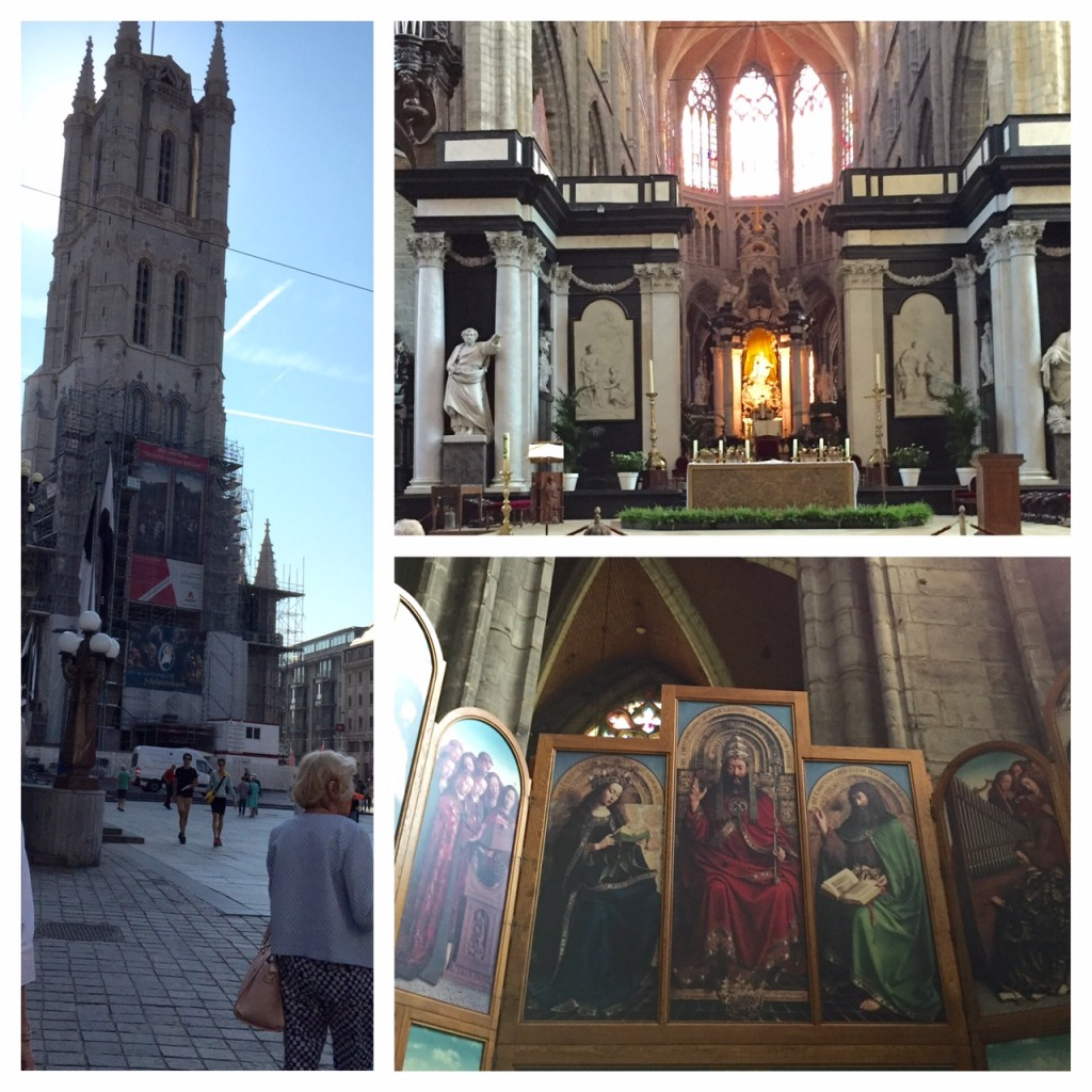 Ghent; Ghent Cathedral; Mystic Lamb; boomer travel; Viking River Cruises; Rhineland Discovery; travel